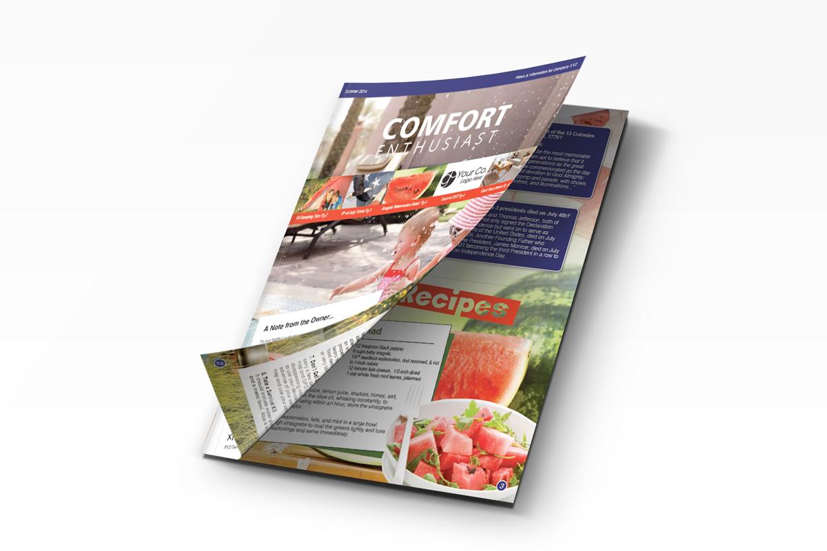 HVAC marketing newsletter for ac marketing.