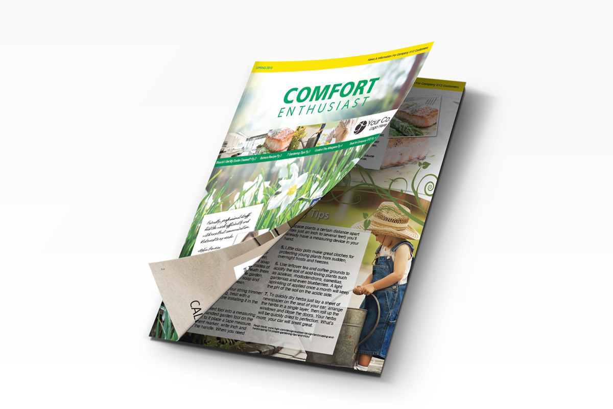 Spring Comfort Enthusiast Newsletter