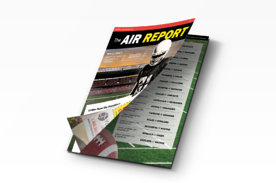 'The Air Report' Football Newsletter