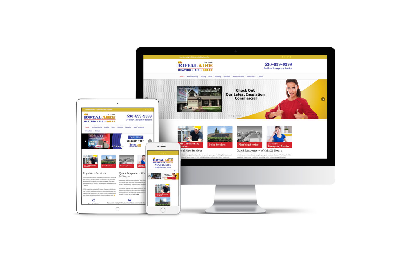 HVAC Marketing Website