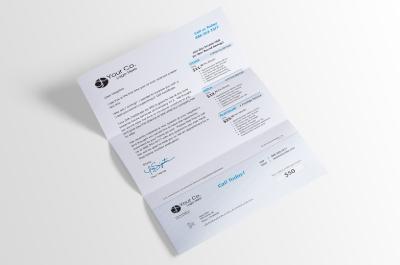 Self Mailer Letter Sample