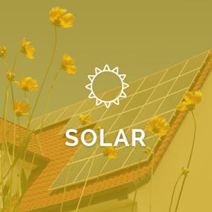 yellow solar graphic