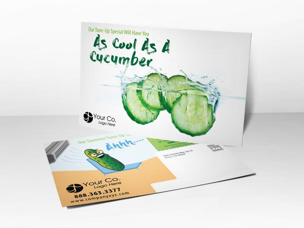 HVAC Marketing Summer Postcard