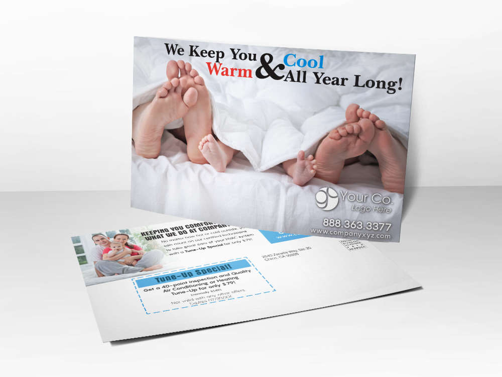 HVAC Marketing Postcard