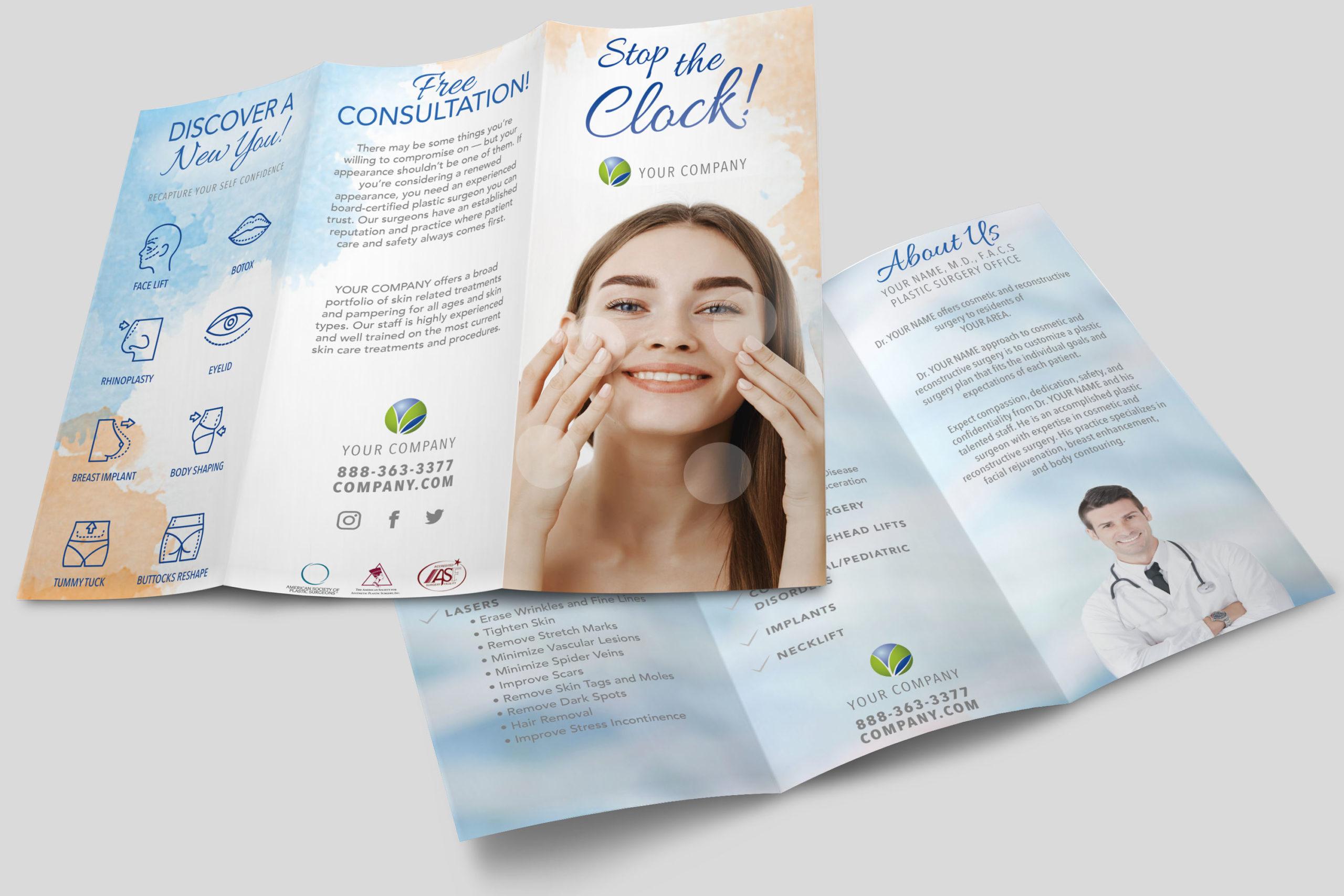 MedSpa Services Brochure Template